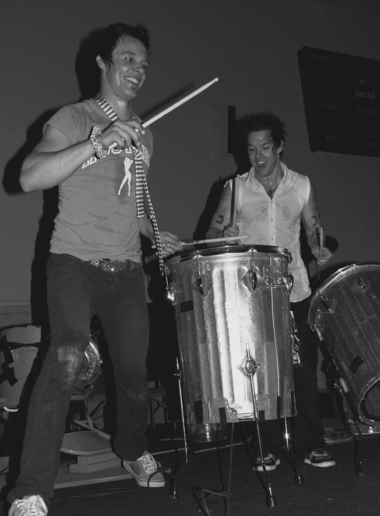 Drumming for Homecoming