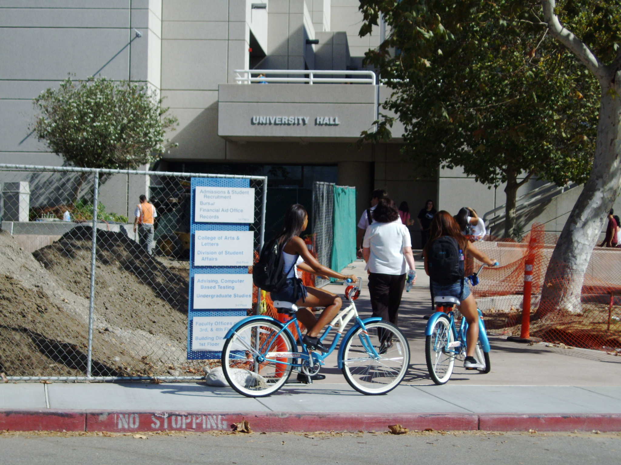 CSUSB's Construction Project to Benefit the Handicapped