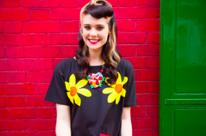 Kate Nash looking pretty for the camera. Source: Kate Nash