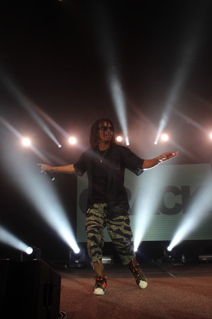 Lupe Fiasco performs at CSUSB on May 31.