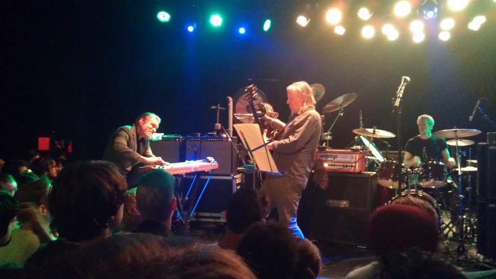 Christoph Hahn (Left) Michael Gira (Center) Phil Puleo (Right)