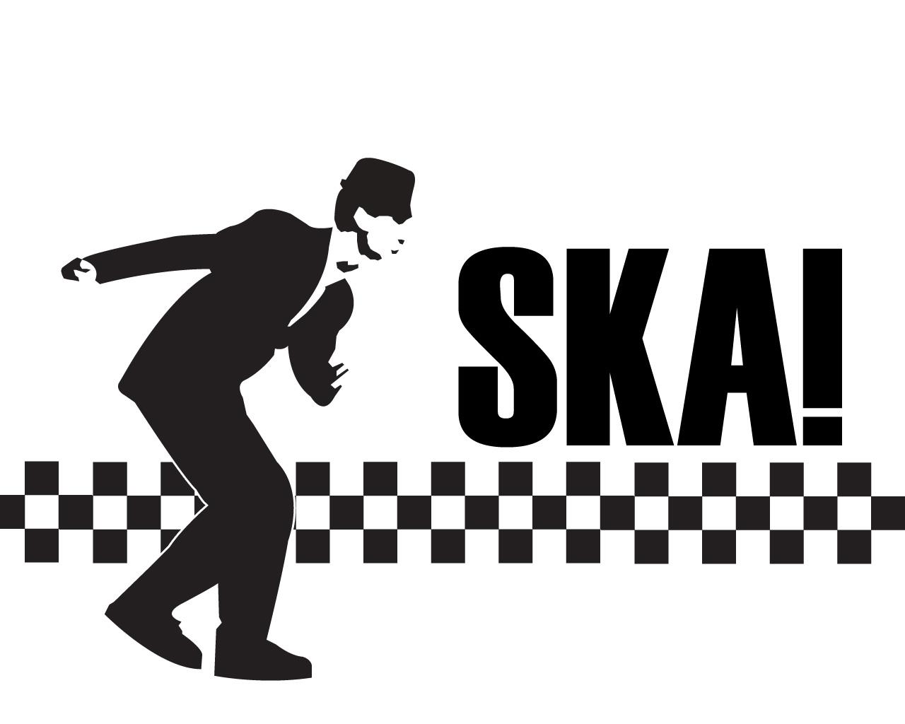 Ska and reggae are distinguishable