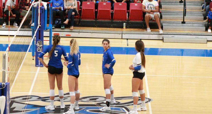 Coyote volleyball prepares for five at home