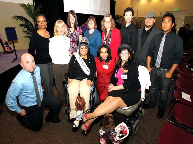 Ms. Wheelchair 2010 charms CSUSB