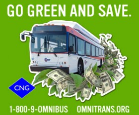 Go green and save with Omnitrans