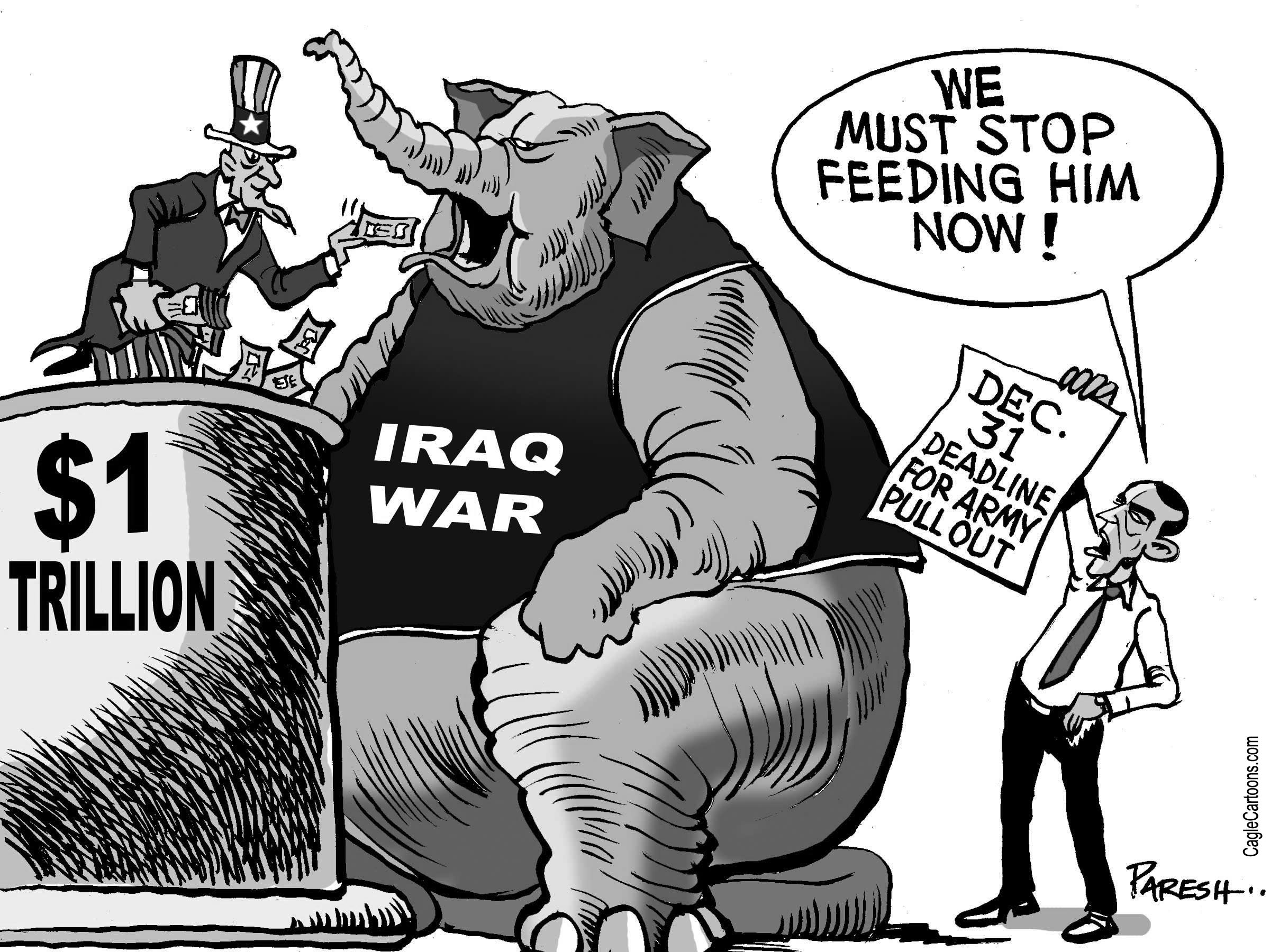 Obama brings home Iraq troops: war over?