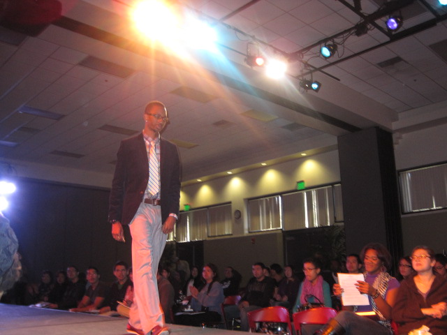 Career center fashion show turns future employees heads