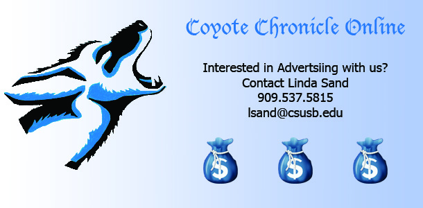 Advertisement for Coyote Chronicle ads