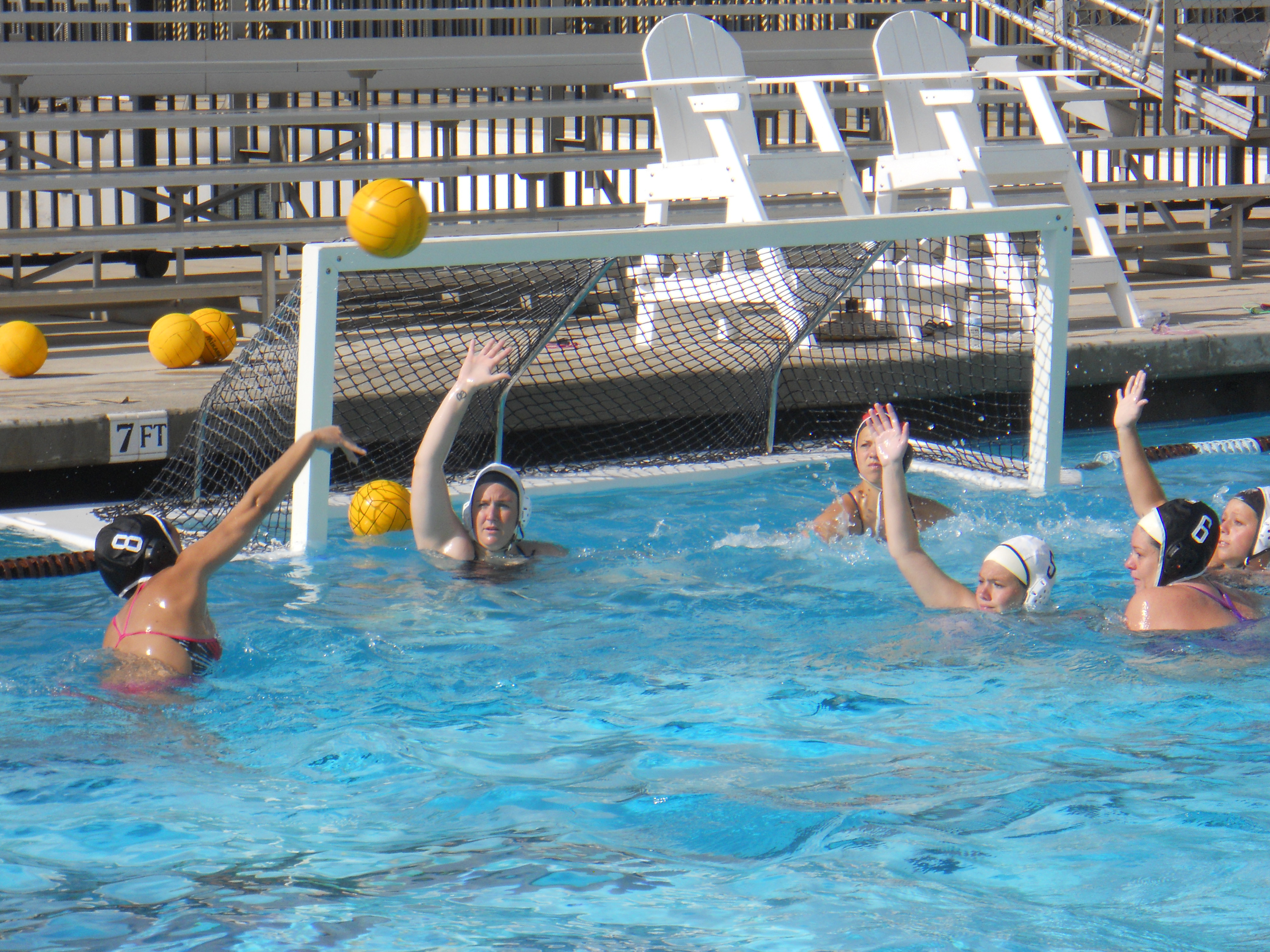 Water polo starting to get on track