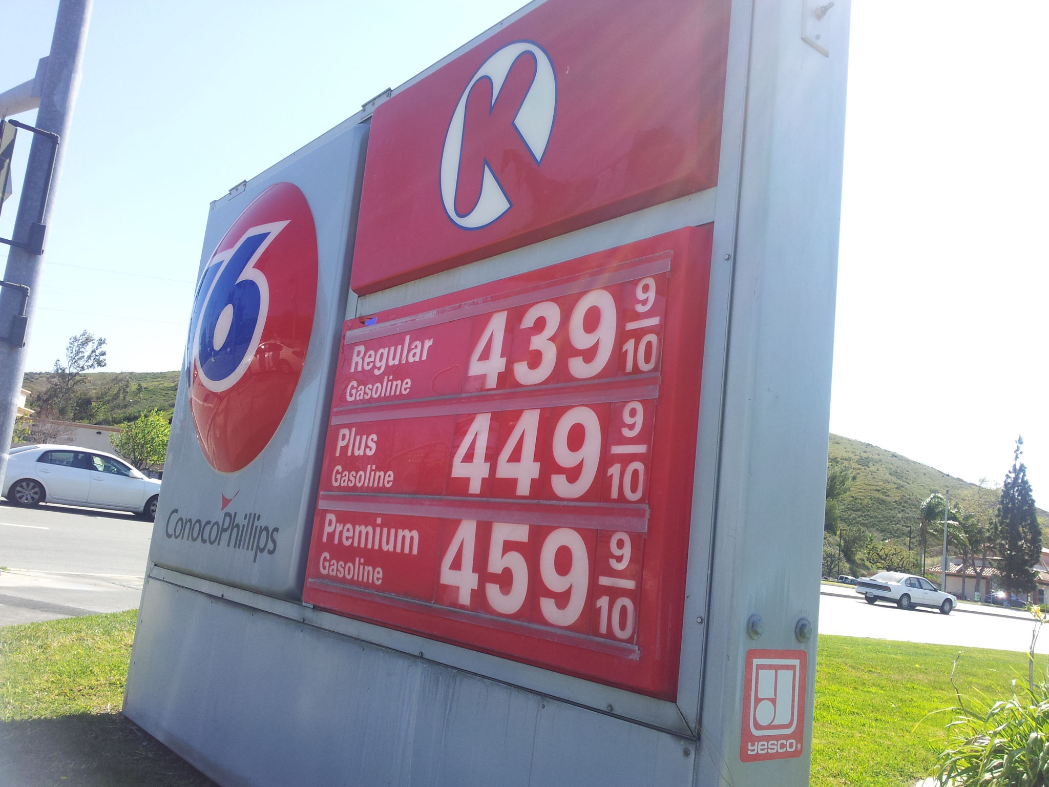Gas prices driving students to stay on campus