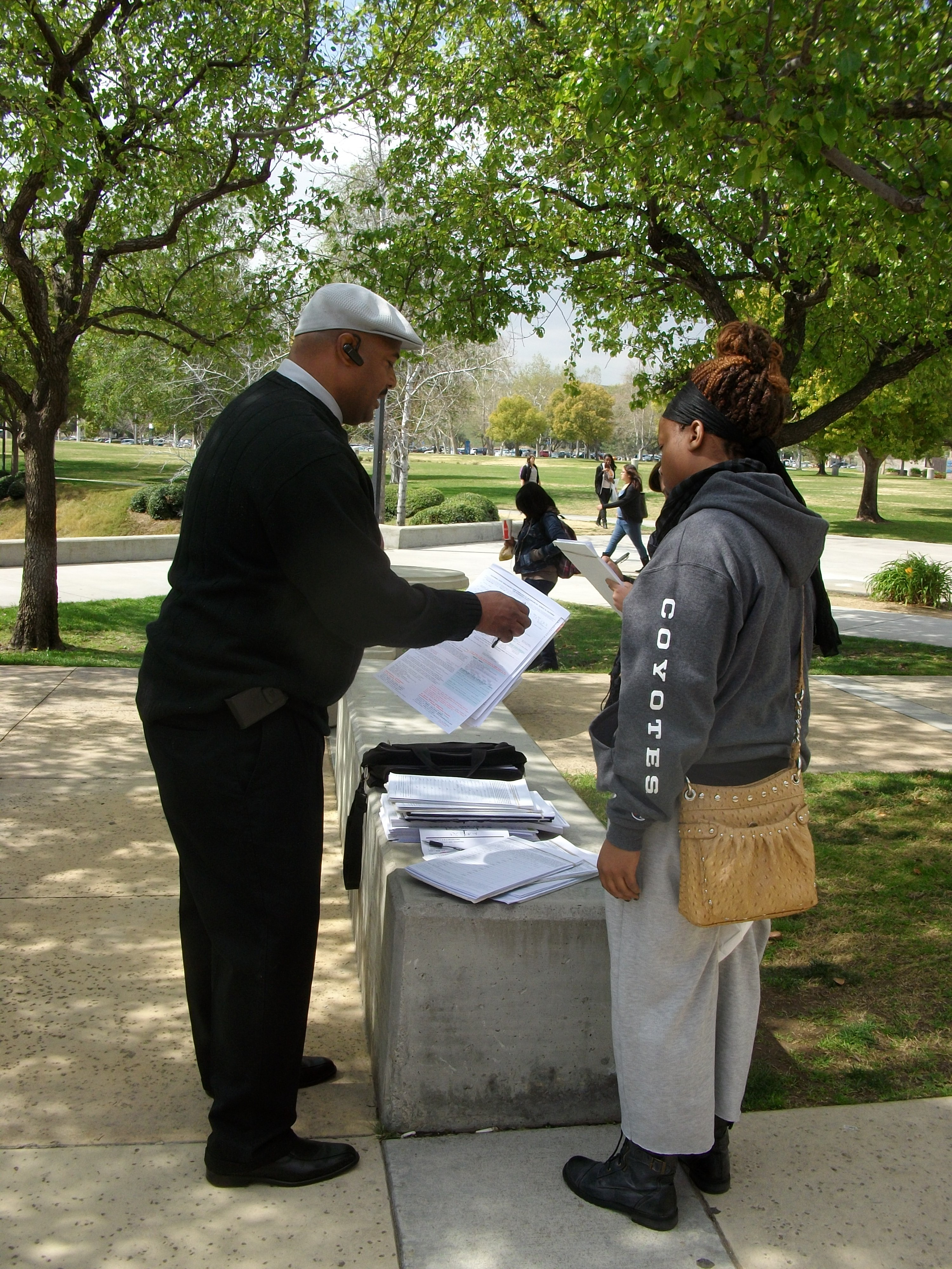 Petition peddlers too prevelant on campus