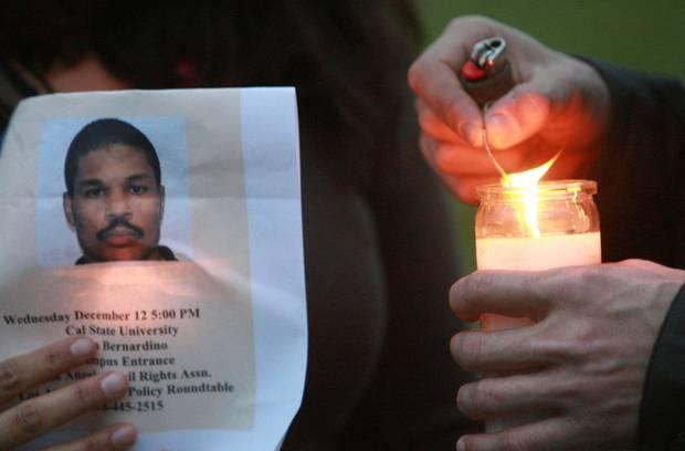 Parents of slain student sue CSUSB