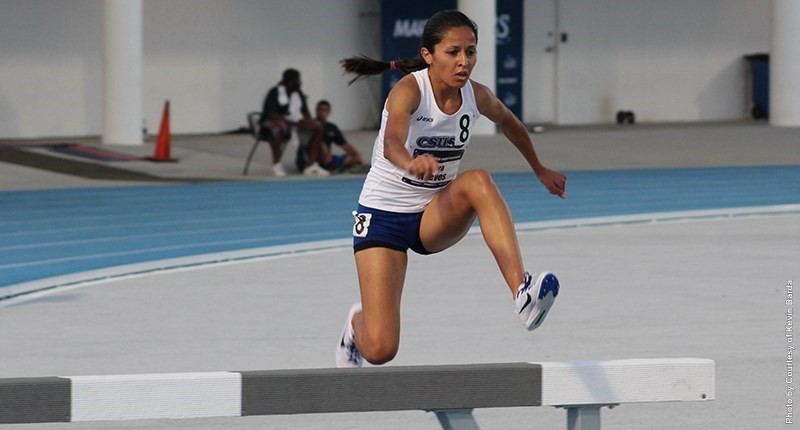 Aceves represents CSUSB in track NCAA Championships