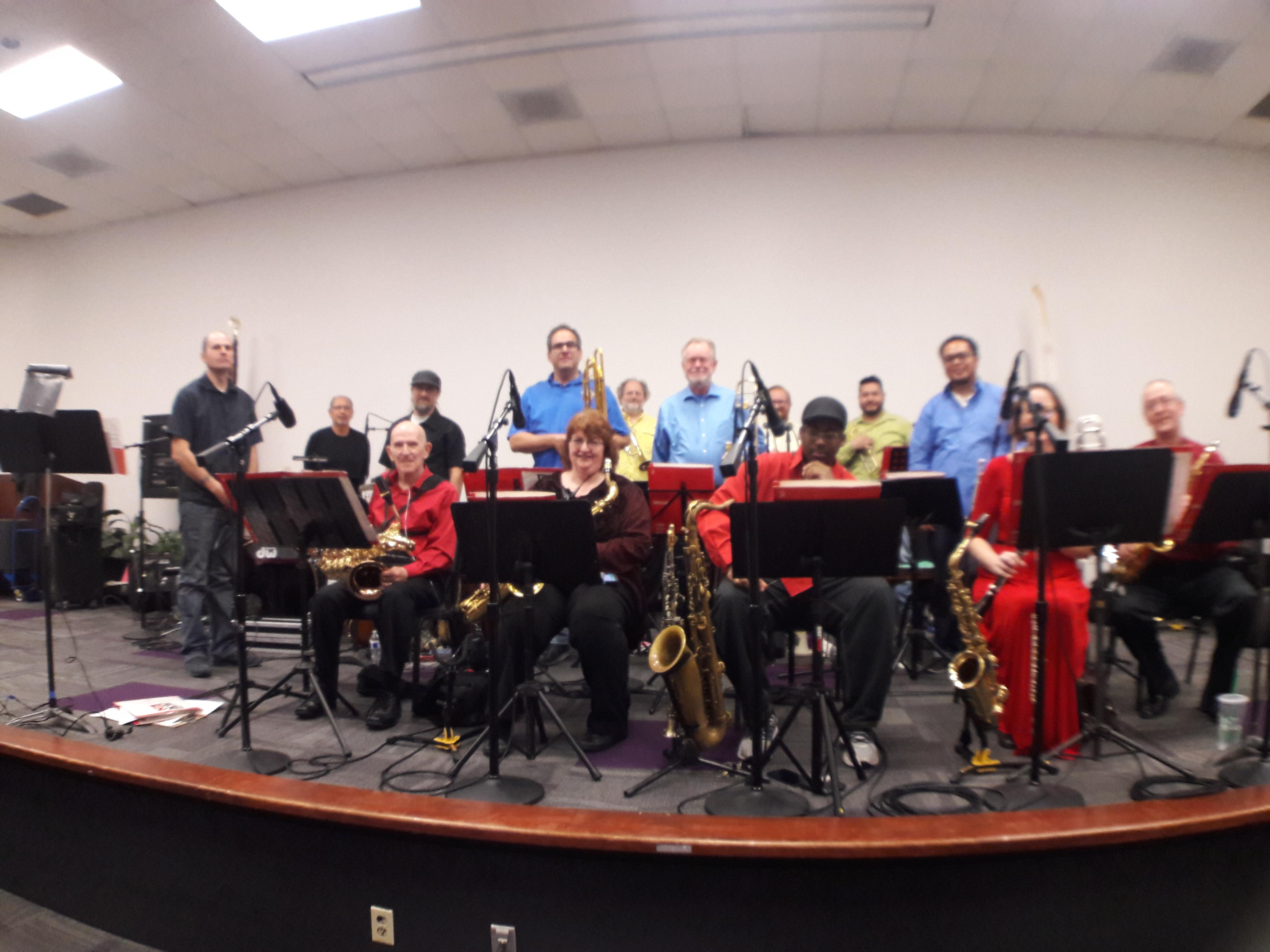 Big band brings jazz
