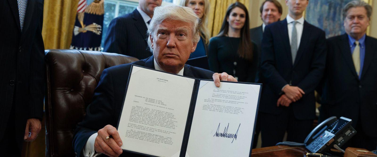 Trump's First Week as President