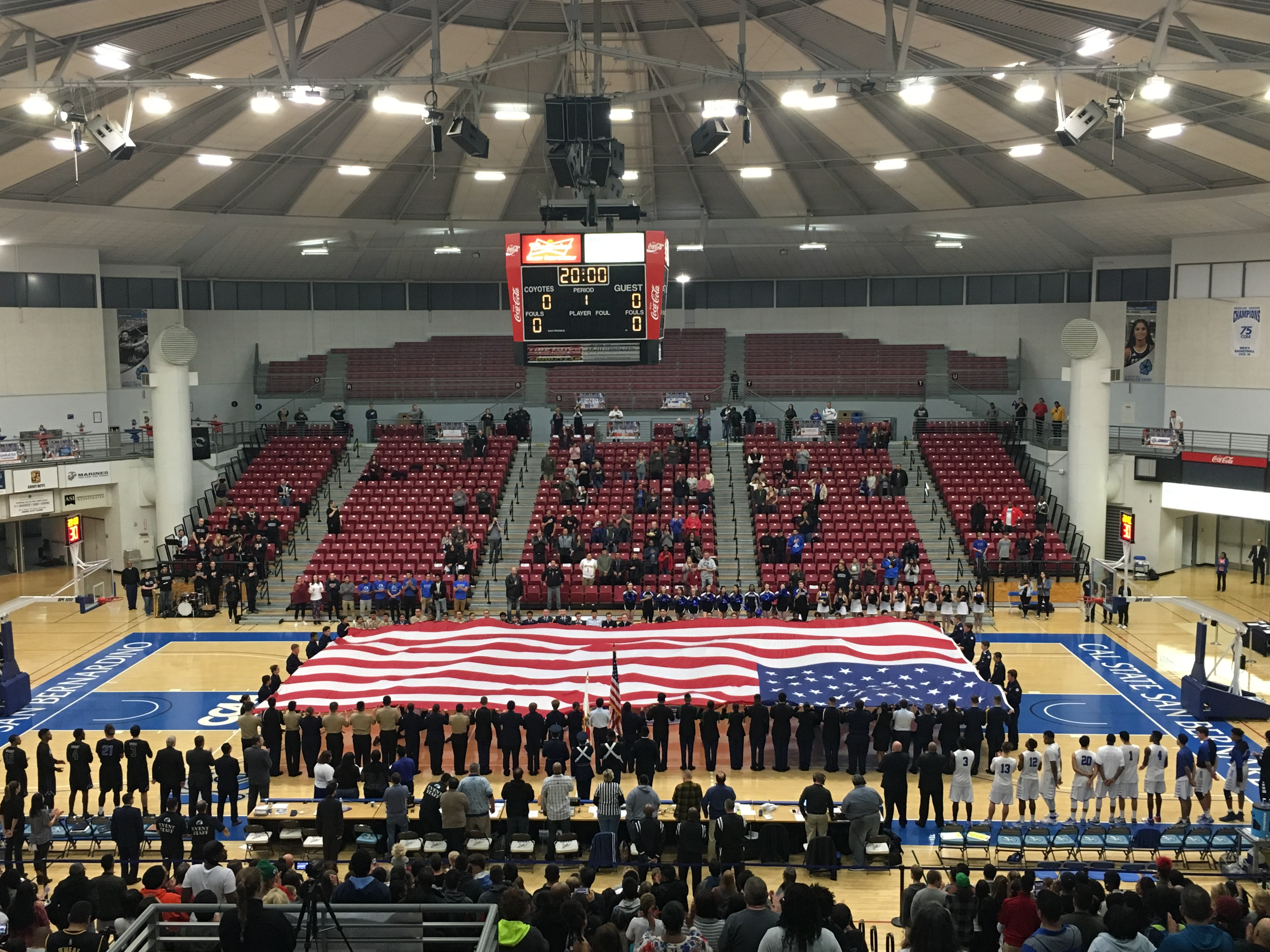 CSUSB gives thanks to the military