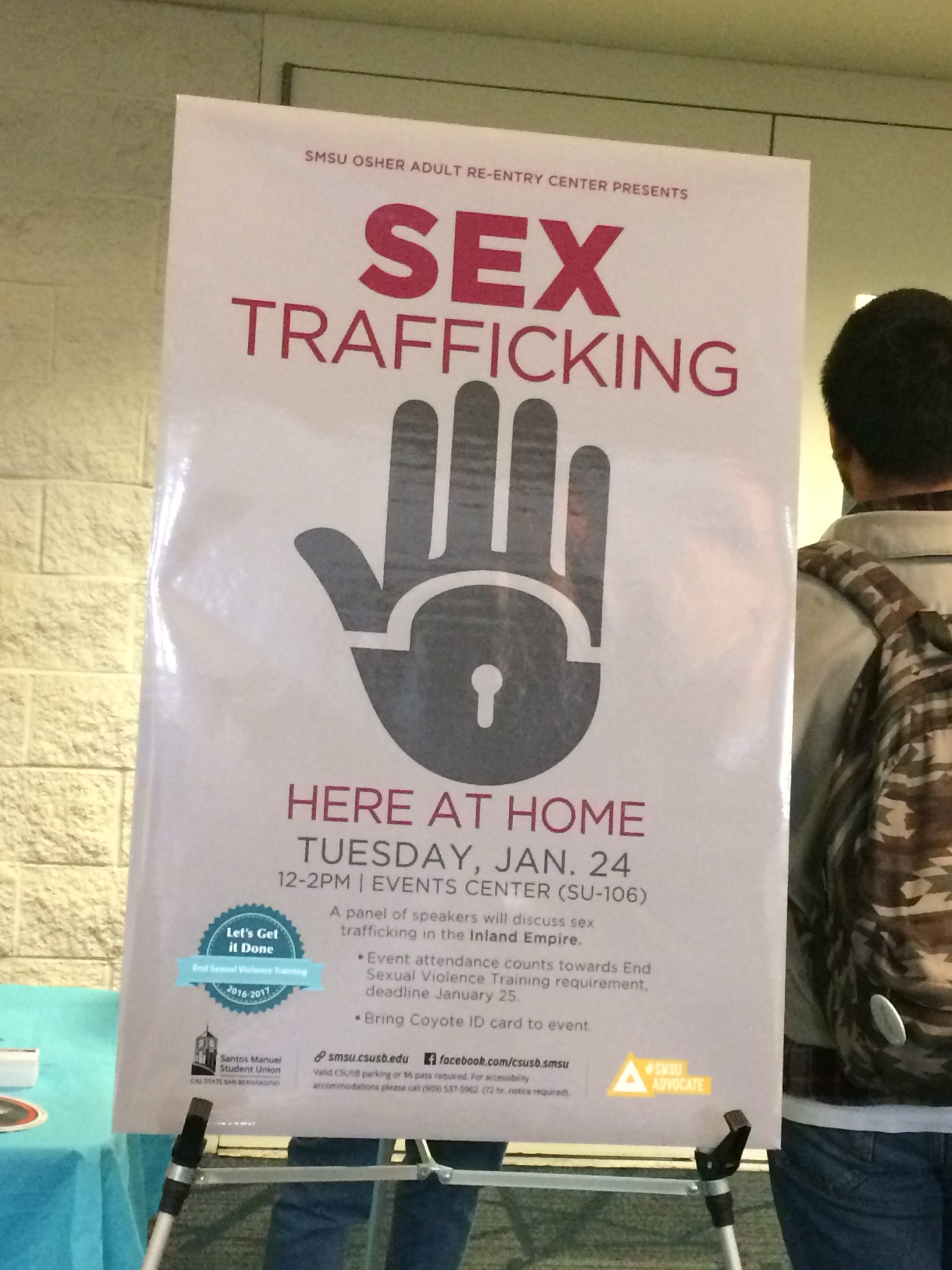 Sex Trafficking in the Inland Empire