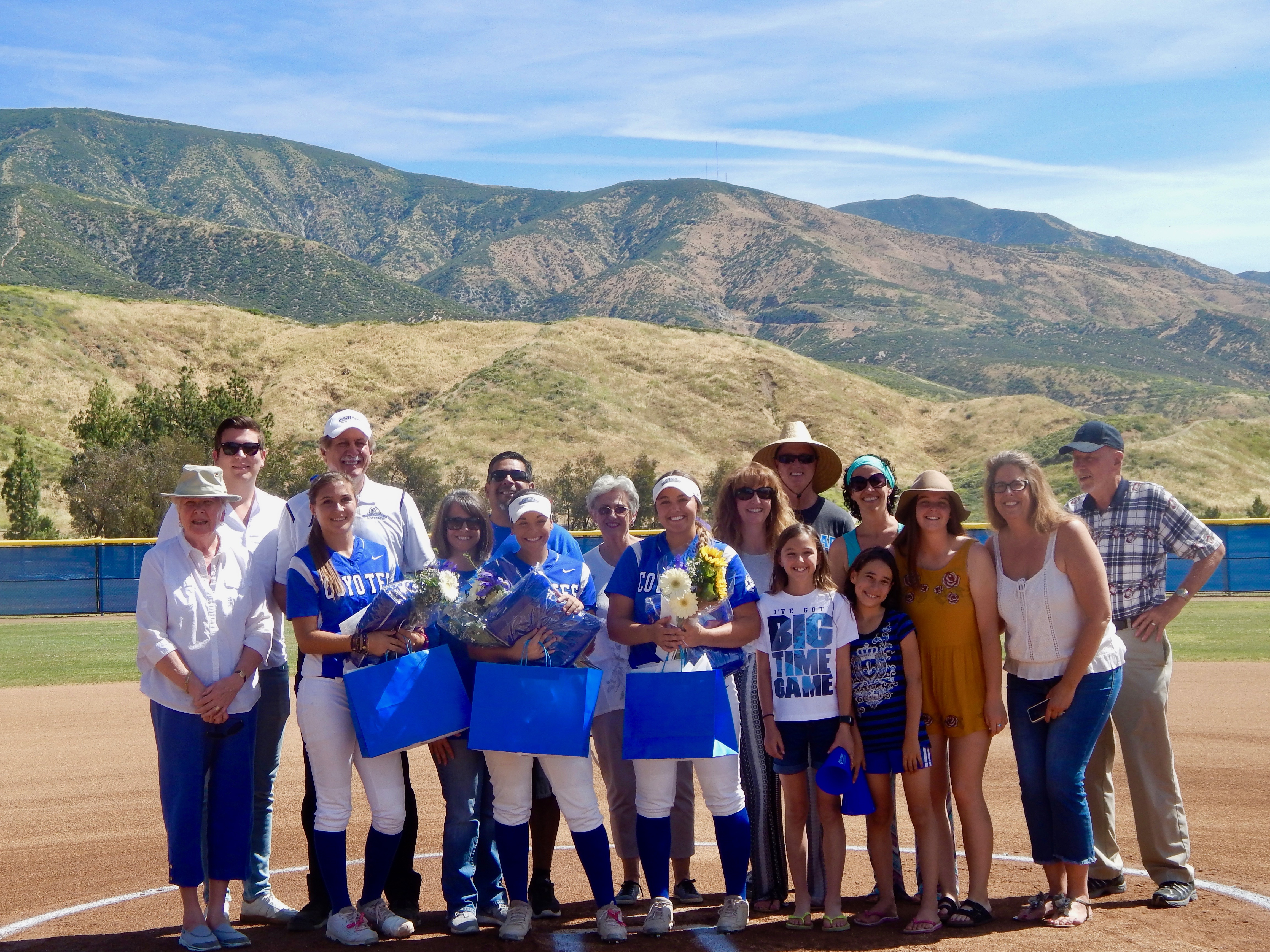 UPDATED- Softball finishes big in final home series