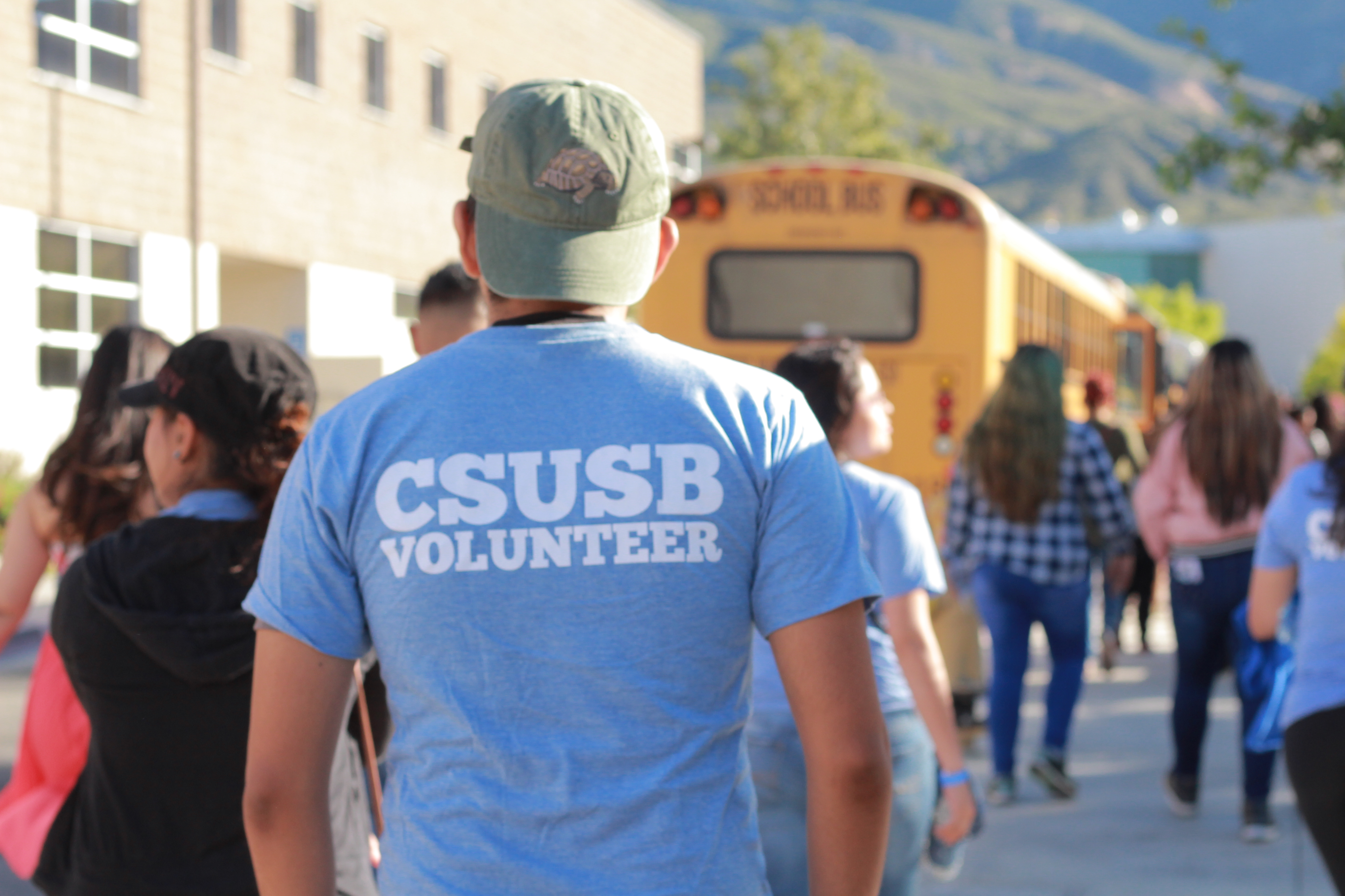 CSUSB Community Join for Coyote Cares Day