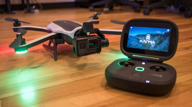 The new Karma drone from GoPro