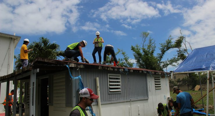 CSUSB students provide disaster relief in Puerto Rico