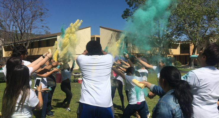 One Step at a Time: Teal Color Fest