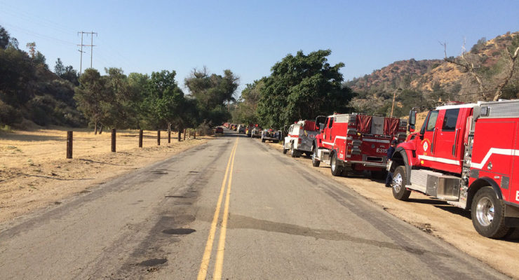 California fires leave local stations understaffed