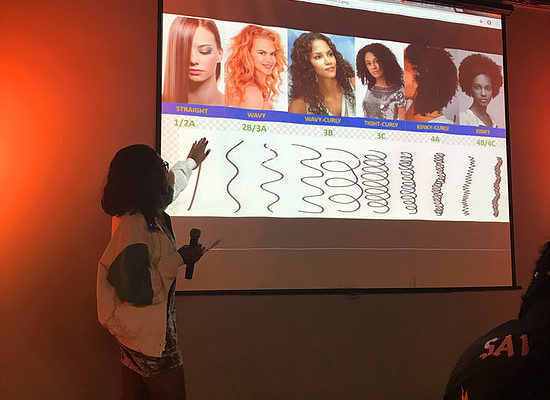 SMSU hosted a Black Gal Hair Care event