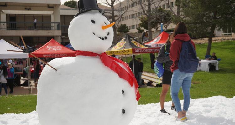 12th Annual Snow Day Returns to CSUSB San Bernardino Campus