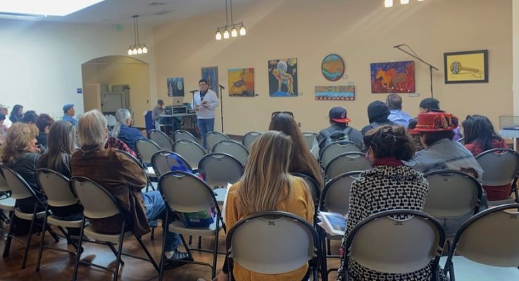 Engaging with the community through Native poetry