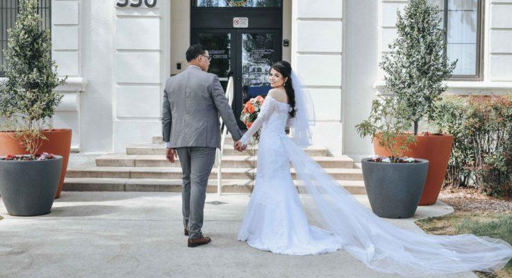 Quarantine throws wedding plans into chaos