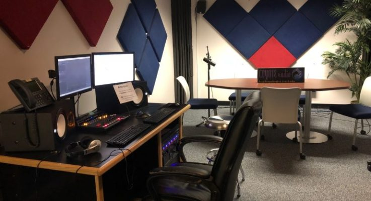 Campus radio station continues to operate in a pandemic